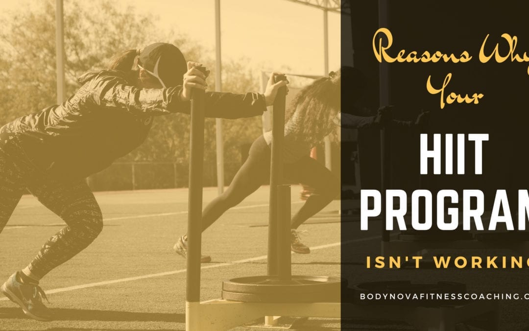 Why Your HIIT Program Isn't Working