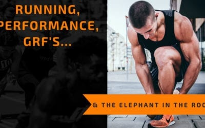 Running, Weight Loss, GRF's and the Elephant in the Room